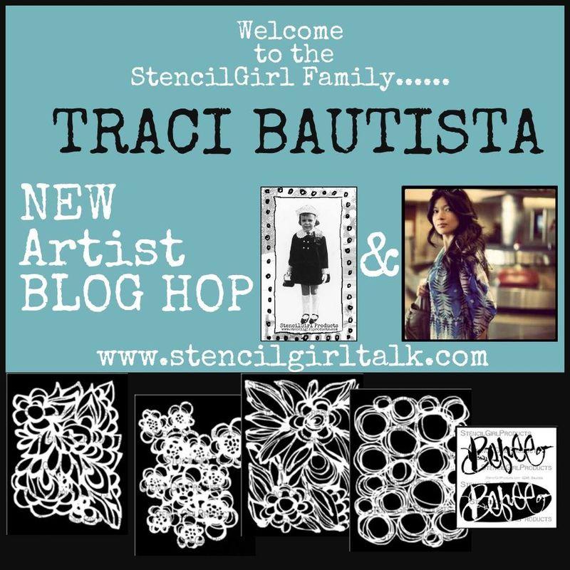 Traci bautista stencilgirl blog hop