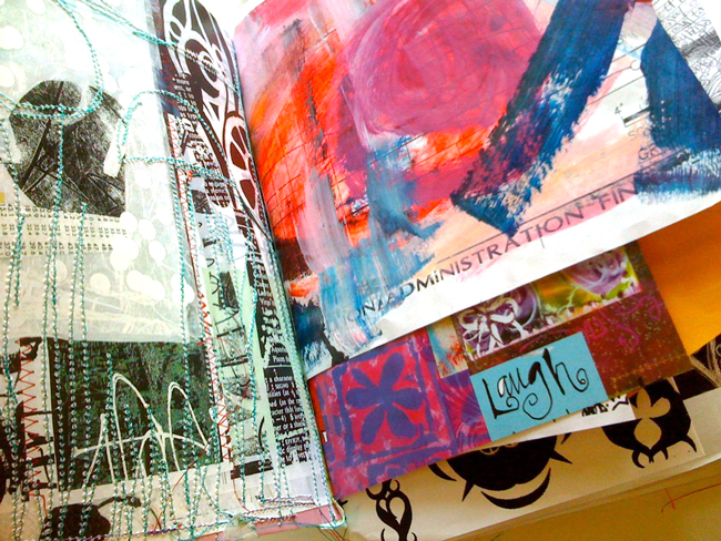Inside-stitched-journal-pages-traci-bautista