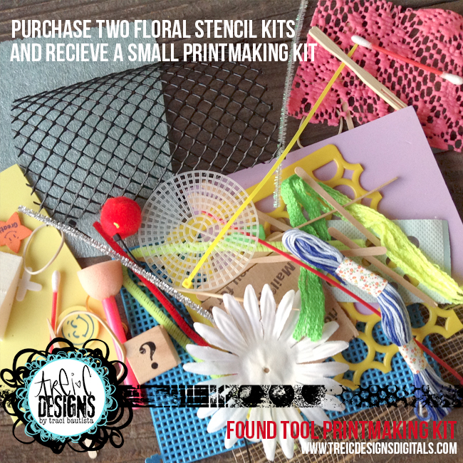 Floral-stencil-kit-special-printing-kit-by-traci-bautista_3
