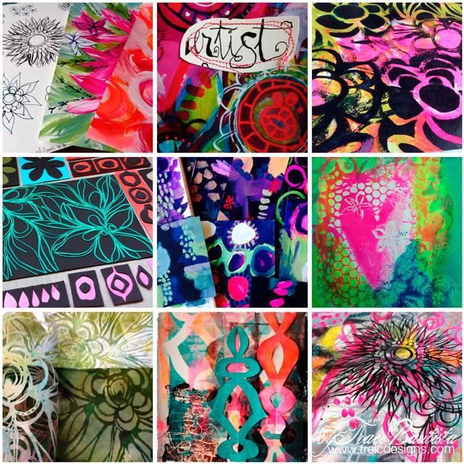Printmakingunleashed_CHAworkshop by Traci Bautista