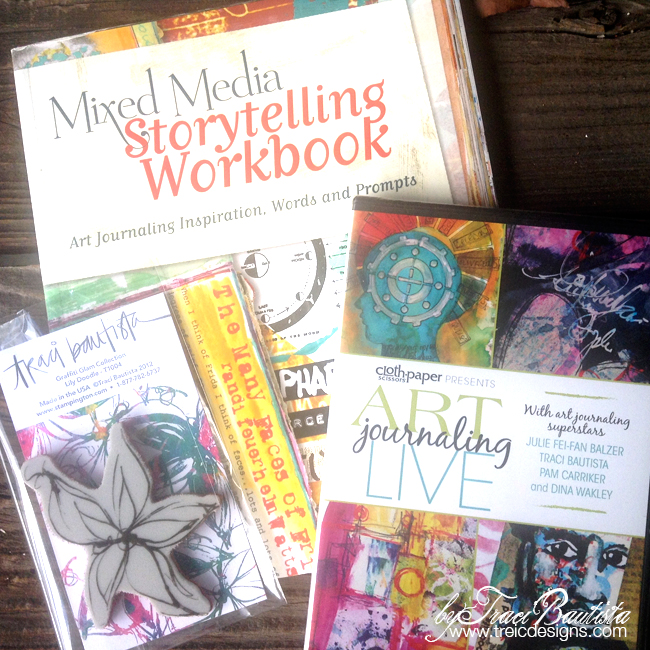 Art-journaling-book-DVD-giveaway-by-Traci-Bautista