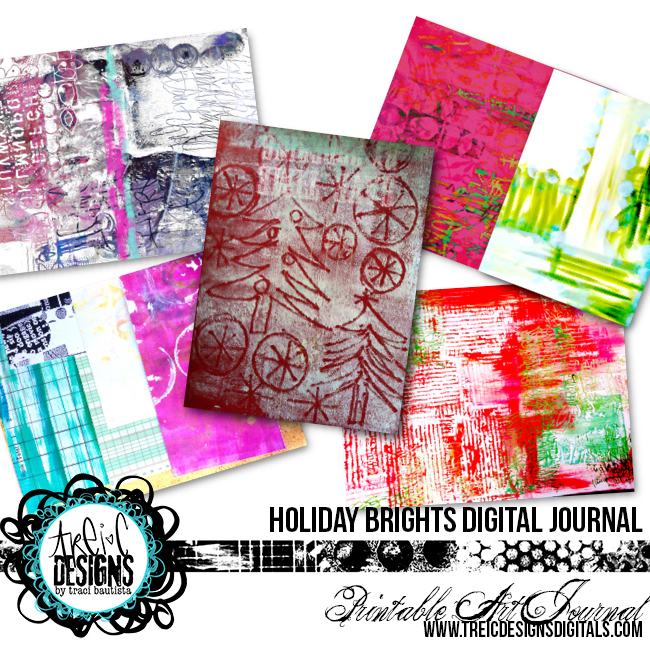 HOLIDAYbrights_printableArtJournal_preview1_artjournalbyTraciBautista