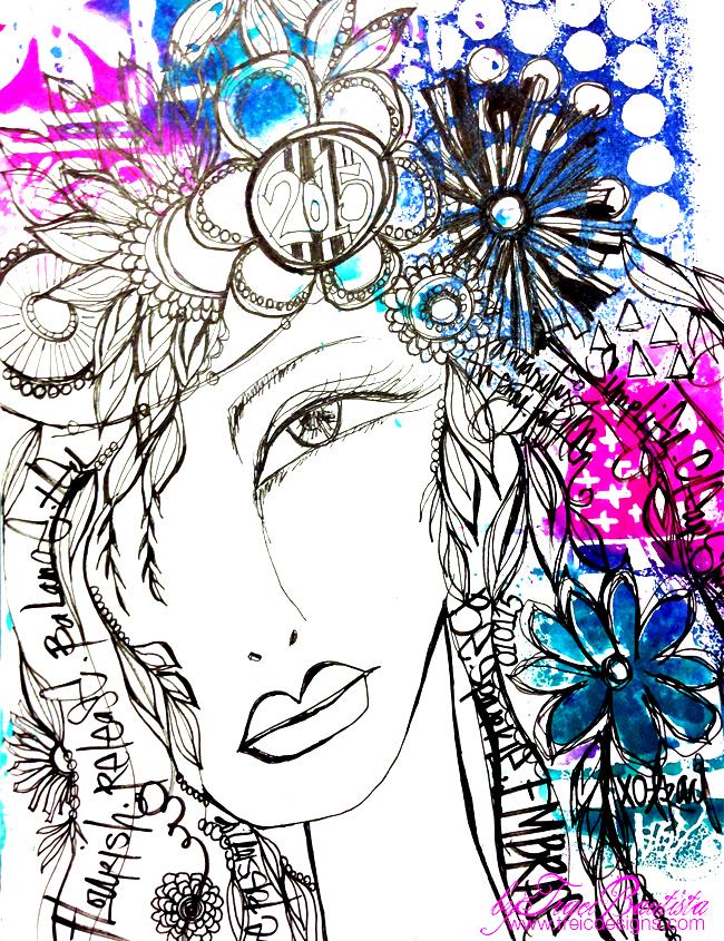 ArtjournalPLAY2015_girlieglamFLOURISH_byTraciBautista