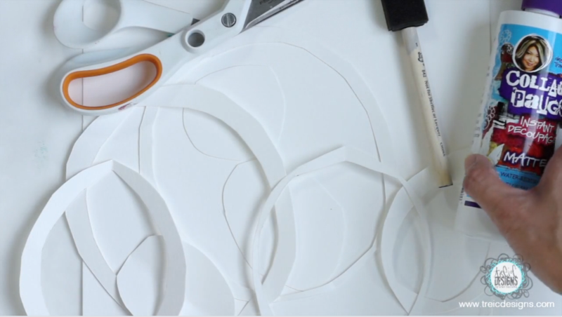 Paper masks plexi prints L2_1 byTraciBautista