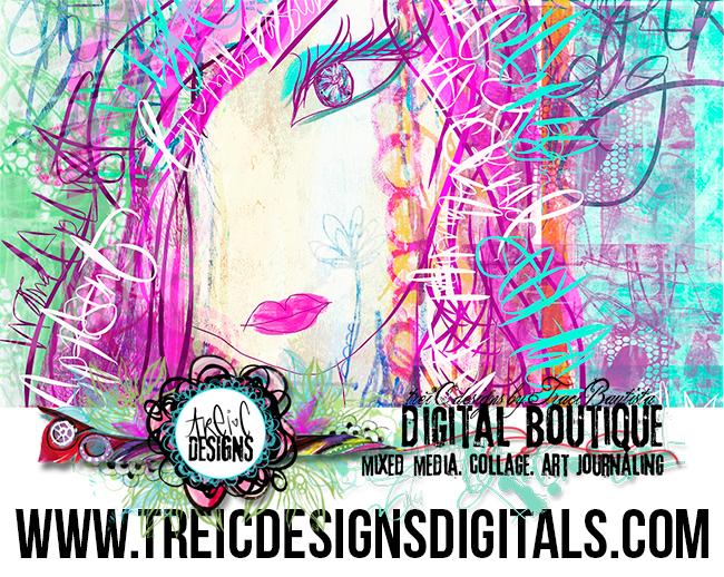 treiCdesigns DIGITALS website